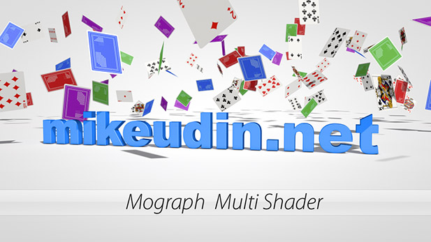 mikeudin.net | Mograph Multi Shader