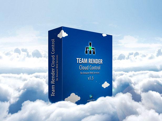 Team Render Cloud Control