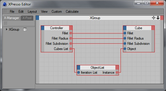 XPresso Object List