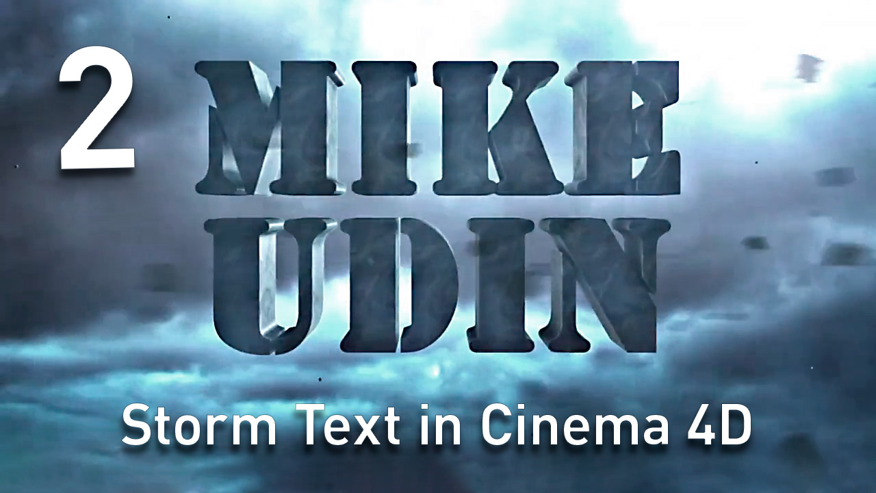 Mike Udin Storm Text Tutorial