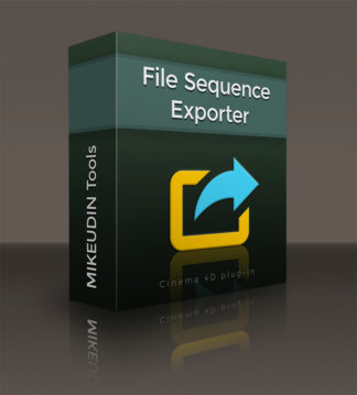 Best tool to export your Cinema 4D scene to file sequence
