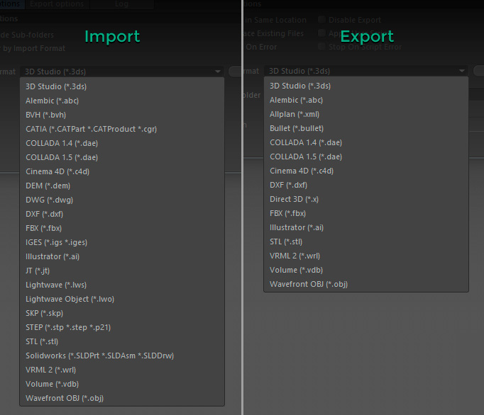 mikeudin-batch-processor-import-export-formats