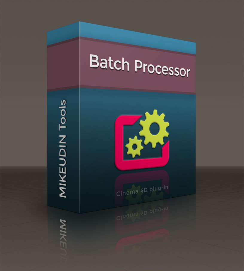 Batch Processor for Cinema 4D