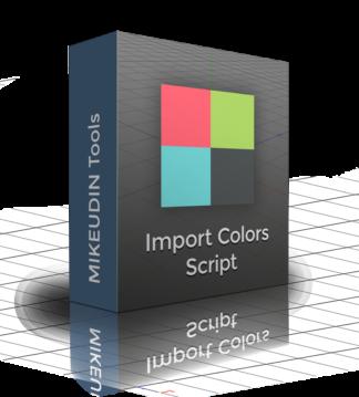 Cinema 4D Import Colors Script